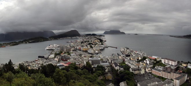 Alesund. Norway. 2011