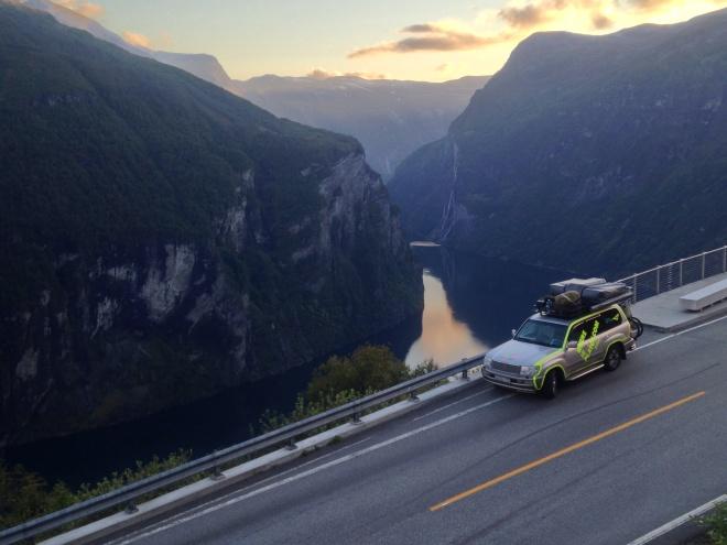 Tlc100 Geiranger fjord