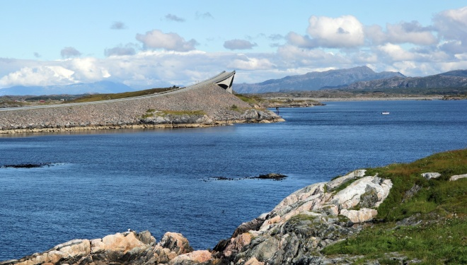 The Atlantic road. Norway. 2011