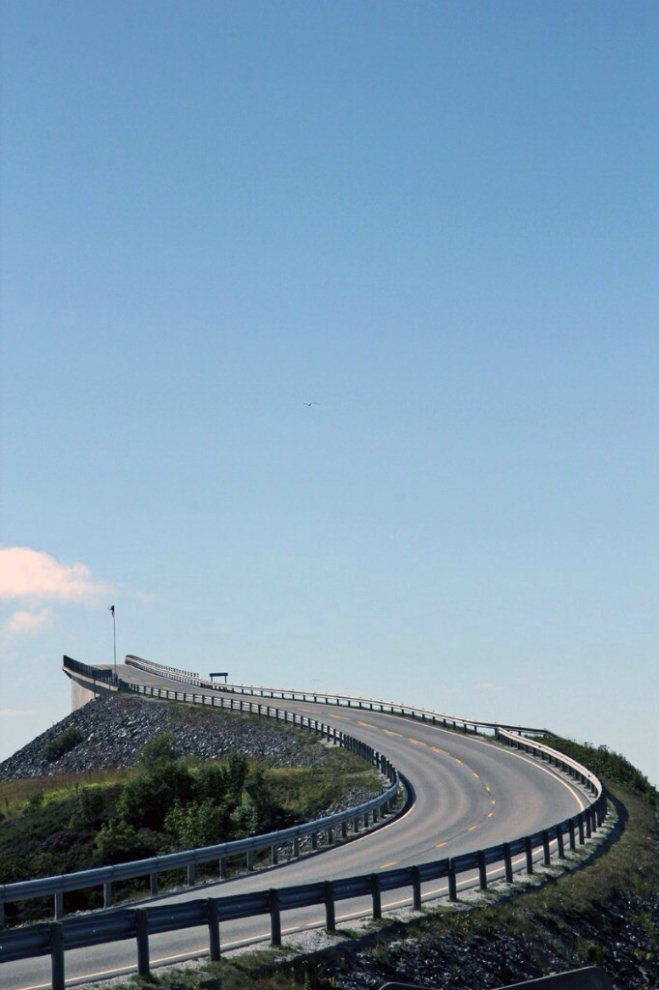 Дорога в облака. The Atlantic road. Norway. 2011