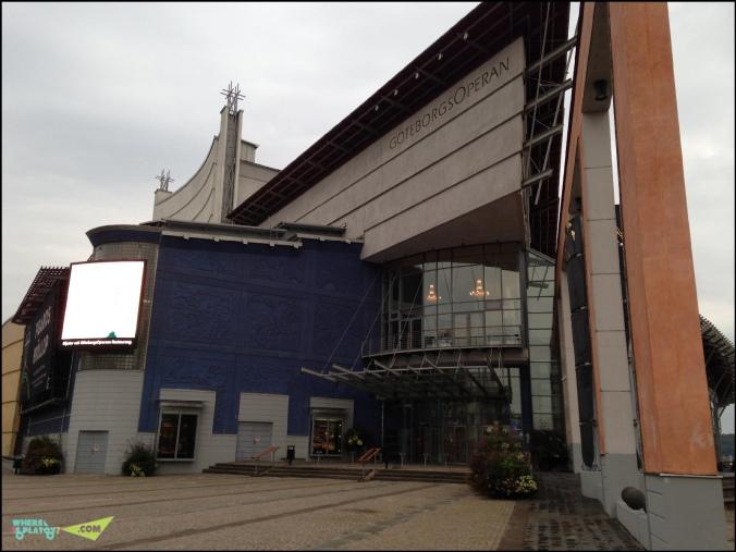 Здание Оперы.