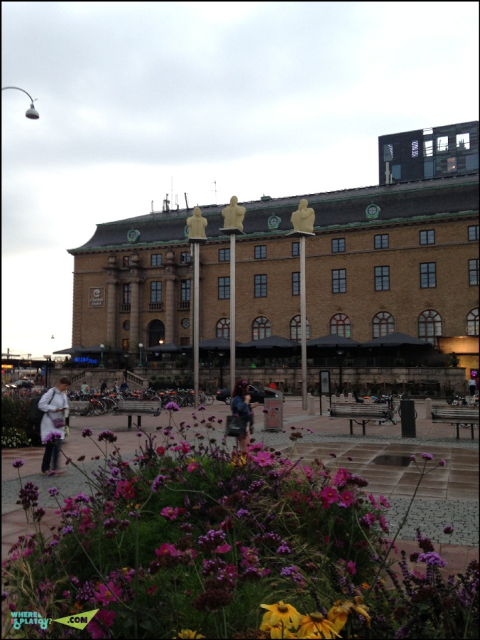 площадь перед centralstation