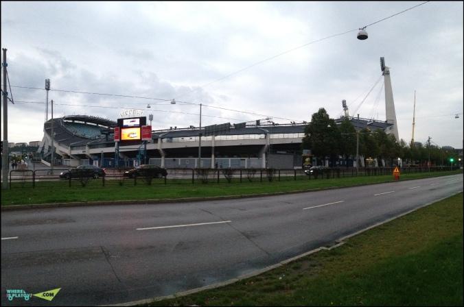 Panorama stadion Ullevi