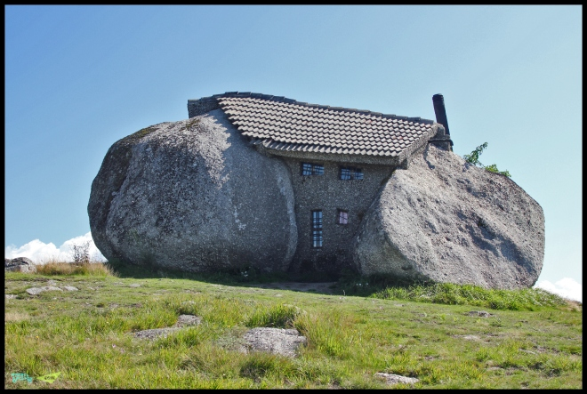Flingstones house. Portugal. Fafe