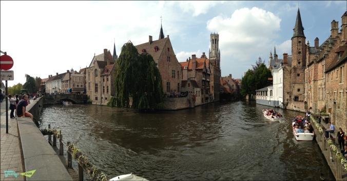 Самый красивый канал Брюгге. Розенхудкай.