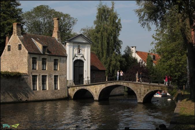Мост в Бегинаж.
