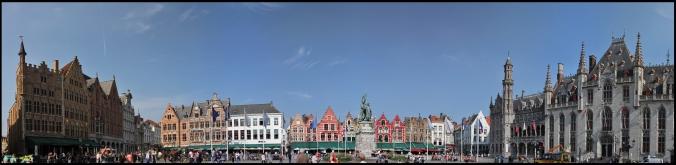 Панорама рыночной площади.