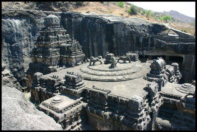 Пещерные храмы Эллоры под Аурангабадом