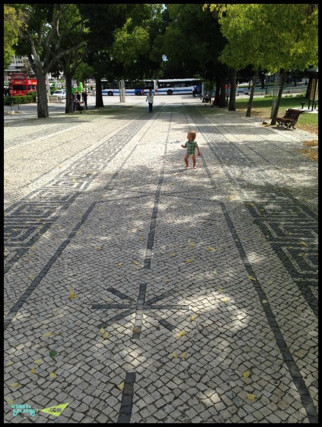 Лиссабон. Босиком по парку Эдуарда 7.