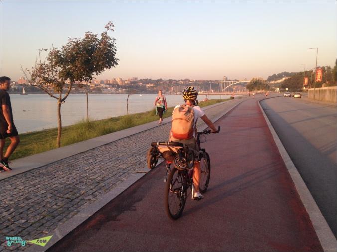 Велодорожка в Вила Нова ди Гая