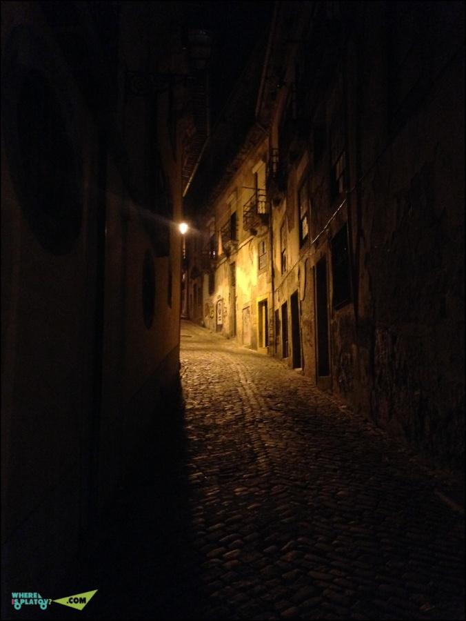 Ночные тихие улочки
