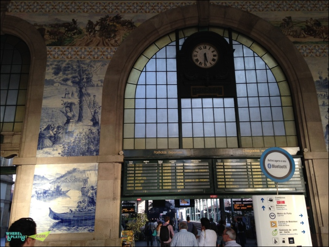 Вокзал Сао Бенту.