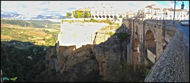 Вид со стороны Сiudad