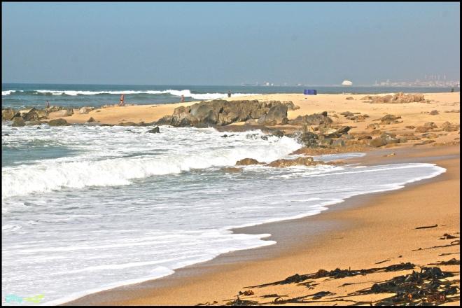 Множественные пляжи Vila Nova de Gaia.