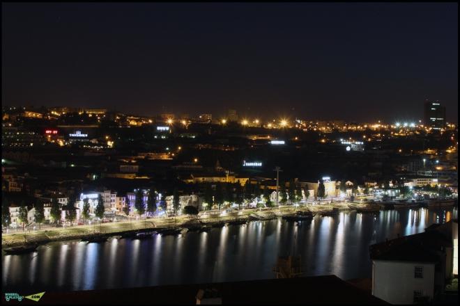 Ночной Вила Нова ди Гая.