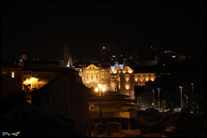 Ночной Порто.