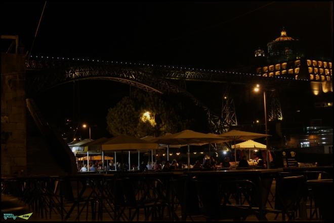 Ночной мостДона Мария Пиа.