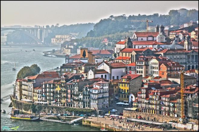 Порто. Столица Северной Протугалии.