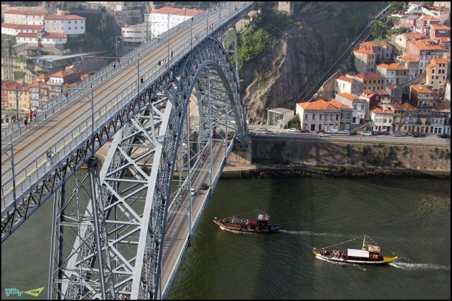 Мост Эйфеля. Вид сверху.